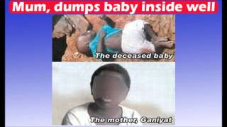 Mum, 20, dumps 5-mth-old baby inside well.