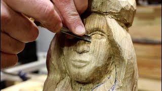 How To Carve A Female Face