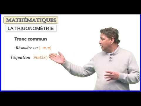 La trigonométrie - exercice équation trigonométrique TC