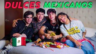 PROBANDO DULCES MEXICANOS