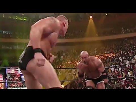 Goldberg vs. Brock Lesnar: WrestleMania XX