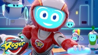 Space Ranger Roger   Episode 5 - 8 Compilation   Cartoons For Kids   Funny Cartoons For Children