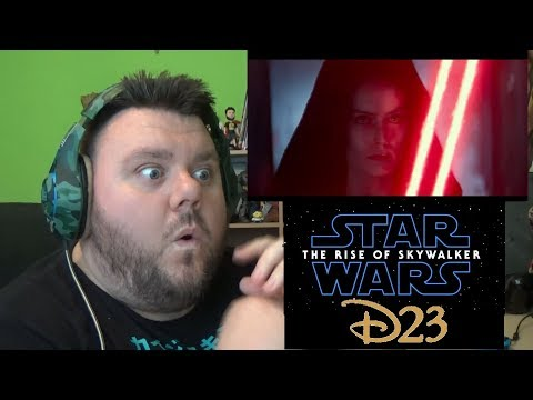 Star Wars The Rise Of Skywalker D23 Special Look Trailer Reaction Review