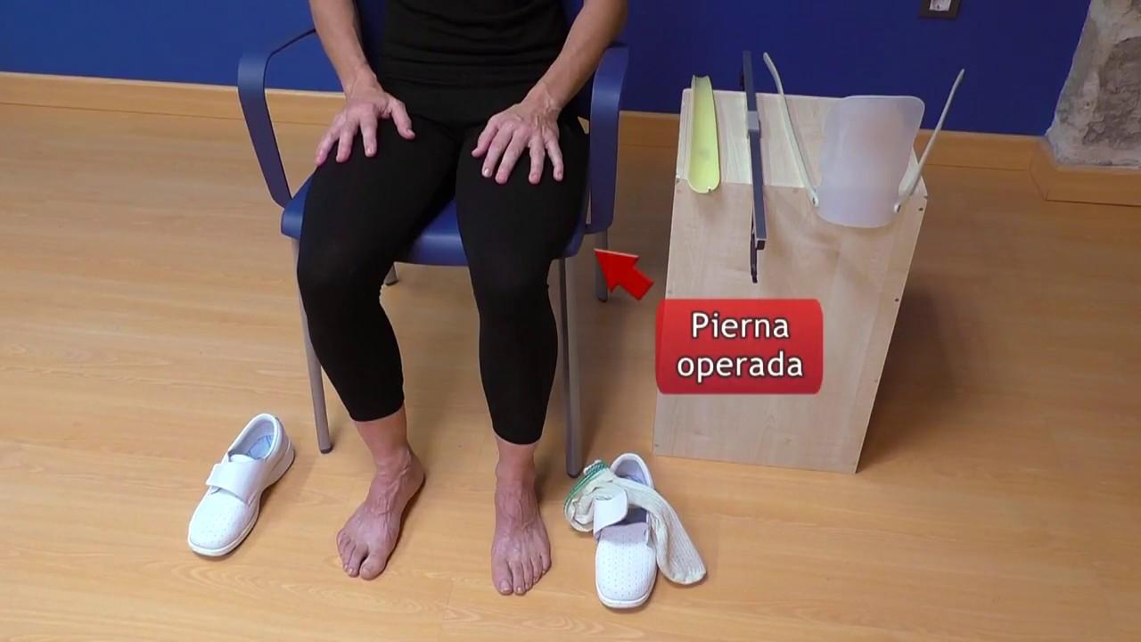 Vídeo sobre Escuela de cadera. Calzarse con accesorios.