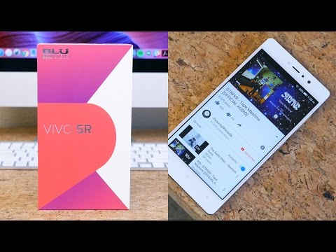 BLU Vivo 5R Unboxing and First Impressions