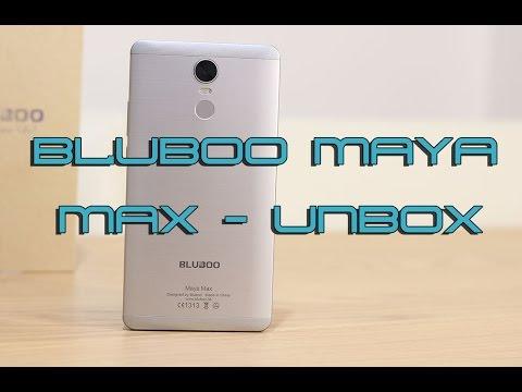 Bluboo Maya Max Unboxing