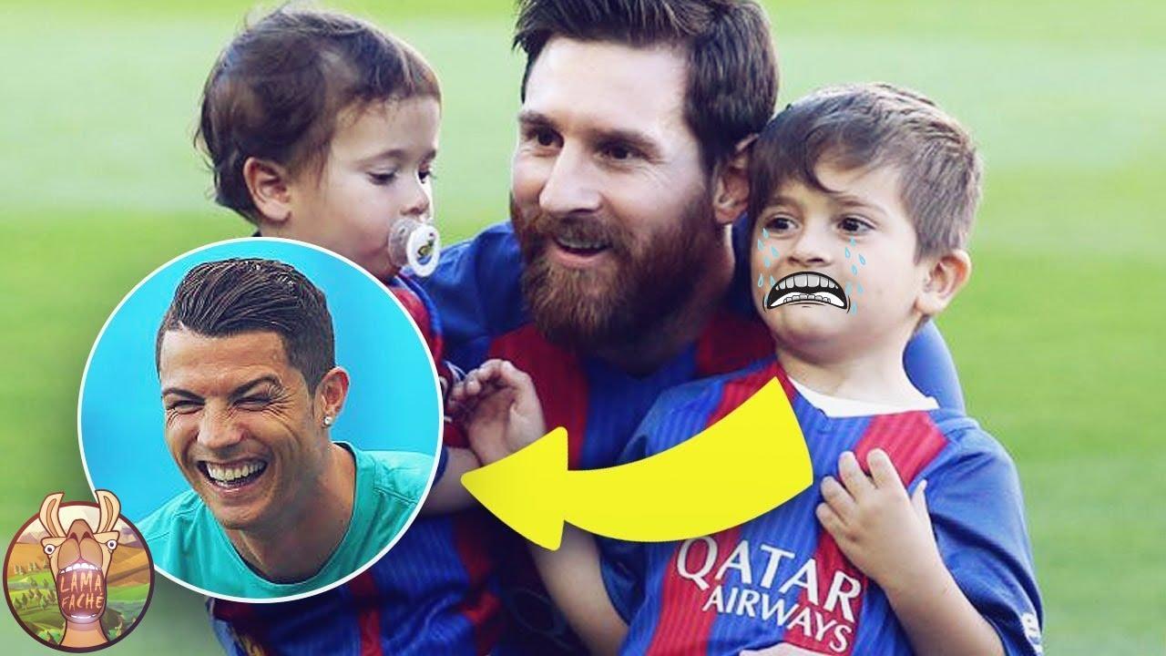 Thiago Messi et Cristiano JR, Qui Sera Le Digne Successeur de Son Père !