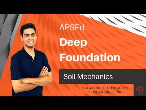 Deep Foundation Introduction | Soil Mechanics