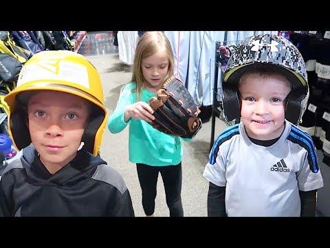NEW Baseball Glove, Bat, and Gear Shopping!
