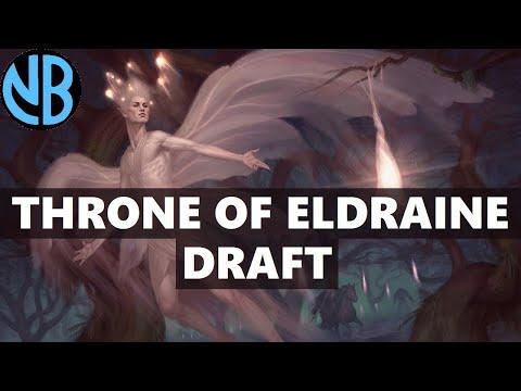 THRONE OF ELDRAINE DRAFT!!! CHOOSING THE WRONG PATH?!?