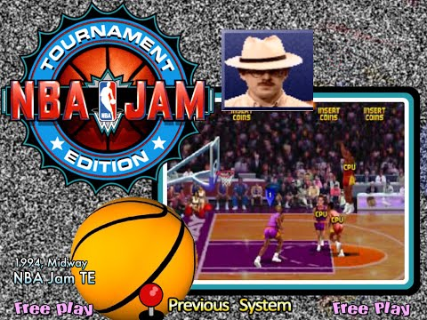 NBA Jam T.E. (Arcade) - Jason Skiles