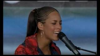Alicia Keys - For All We Know at Live 8