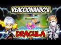 REACTING TO DRACULA THE BEST ALUCARD OF HISTORY! DOUBLE MANIAC AND SAVAGE! | MOBILE LEGENDS