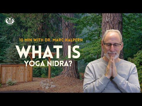 Yoga Nidra | Teacher Training at CCA | 10 Minutes with Dr. Marc ...