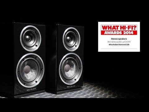 Best stereo speakers under £200, 2014 – Wharfedale Diamond 220