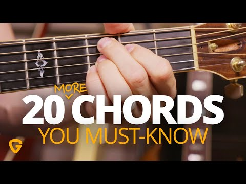 20 Chords Every Intermediate Guitar Player Needs To Know