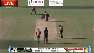 Cpl Live | Guyana Amazon Warriors vs Jamaica Tallawahs Cpl T20 Live - Download this Video in MP3, M4A, WEBM, MP4, 3GP