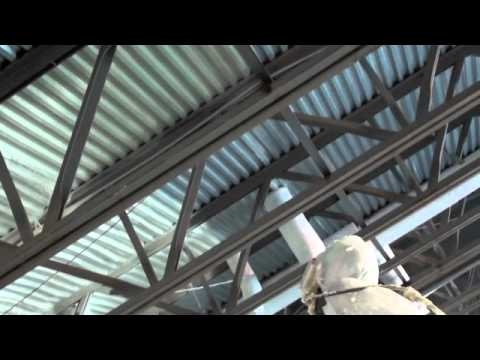 Spray Foam Insulation - Parking Garage Spray Foam Insulation Application