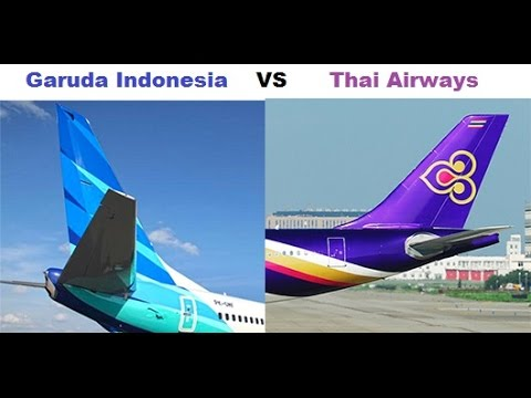 Garuda Indonesia Vs Thai Airways