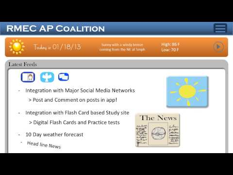 Video of RMEC AP Coalition (Free)