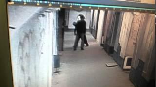 Нападение с баллончиком на девушку в ижевском подземном переходе (видео МВД)