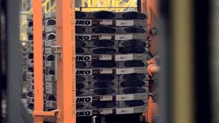 Двухслойная битумная черепица IKO Cambridge Xpress 52 Dual Black - видео 1