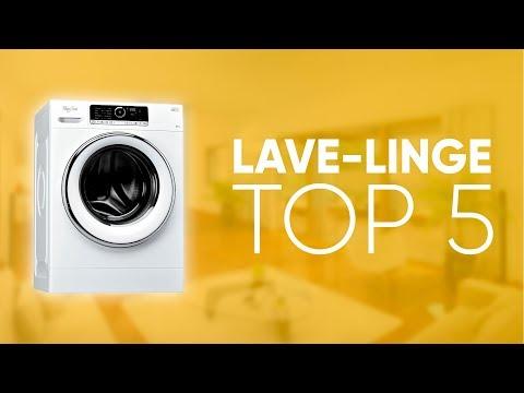 TOP5 : MEILLEUR LAVE-LINGE (2019)