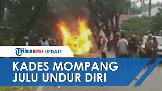Ricuh hingga Bakar Mobil Wakapolres Madina dan 6 Petugas Terluka, Kades Akhirnya Mengundurkan Diri