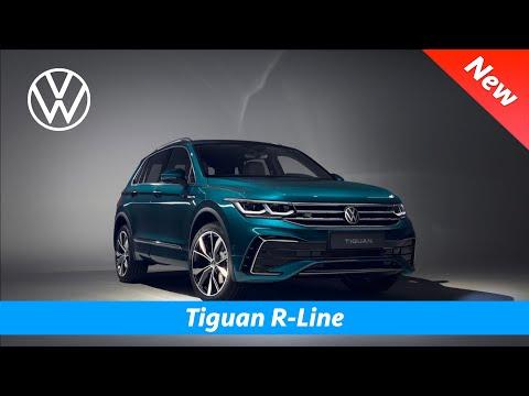 Volkswagen Tiguan 2021 - FIRST look | Interior - Exterior (R-Line & eHybrid)
