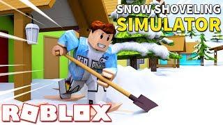 Roblox | KIA QUA MỸ LÀM THỢ XÚC TUYẾT (Code) - Snow Shoveling Simulator | KiA Phạm