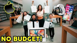 WE BOUGHT EVERYTHING AT THE APPLE STORE **NO BUDGET** | The Royalty Family