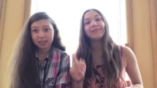 The Humming Challenge (Laylalu & Sasha Celis) The Ducking Sisters