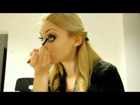 Make-Up Artist magazine contest - Emma Savulescu - Half Barbie Half Zombie Makeup Tutorial