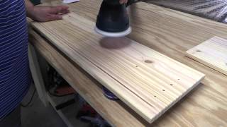 Amateur Wood Finishing 101  Introduction To Sanding And Pretreating Wood Part 1