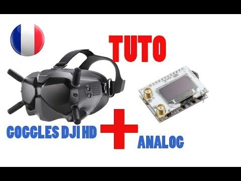 installation récepteur analogique grâce au kit vidéos en français