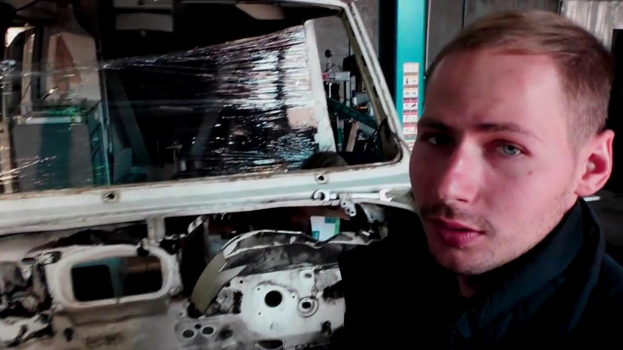 Ремонт Фиат Дукато. Установка двигателя 2.3jtd, Такого ты еще не видел!
