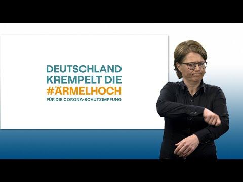 Informationen zur Coronavirus-Schutzimpfung in Deutscher Gebärdensprache