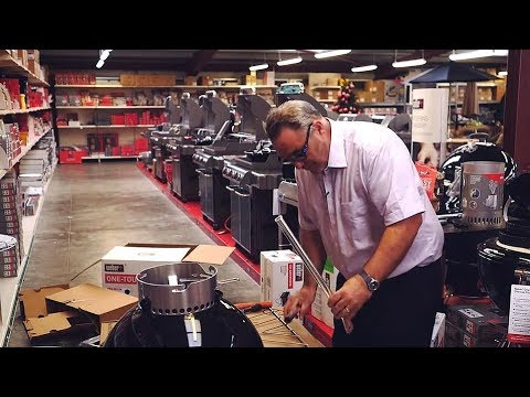 Weber® One-Touch® Premium & Weber® Master-Touch® GBS® BBQ: How To Build Guide