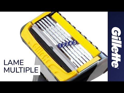 Perché un rasoio ha bisogno di tante lame? | Rasoi Multilama Gillette Fusion