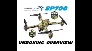 SNAPTAIN SP700 Brushless 2K Camera Drone Overview