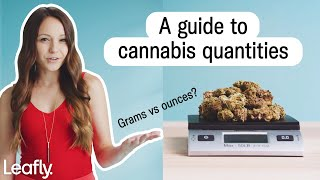 Grams vs ounces of weed: What's it look like?