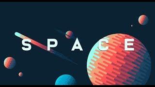 Graphic Design | Space Illustration | Adobe Illustrator Tutorial