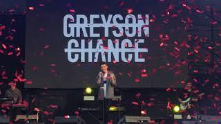 2018.4.15 daydream festival Shanghai Greyson Chance good as gold(new song)