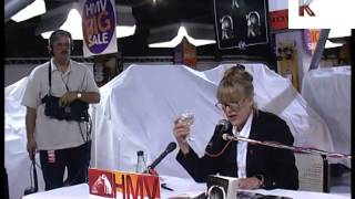Marianne Faithfull 1990s Book reading and Signing
