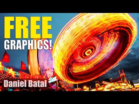 Top 3 FREE Motion Graphics, Music & Video Elements Websites!