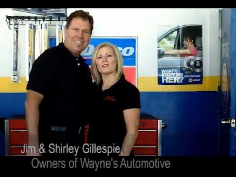 Wayne's Automotive video