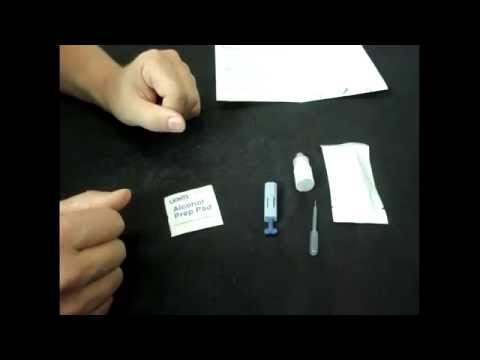 Malaria PF Antigen Card Test