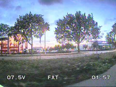 Uneditted Low Light DVR recording of the FXT Mars Pro FPV cam