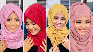 4 Different Hijab Tutorial   Mashura Basheer