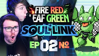 THERE'S NO WAY! • Pokemon Fire Red & Leaf Green Randomizer Soul Link • 02